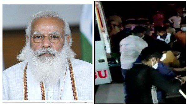 કોવિડ હોસ્પિટલમાં આગથી 13ના મોત, PM મોદી આપશે 2 લાખનુ વળતર