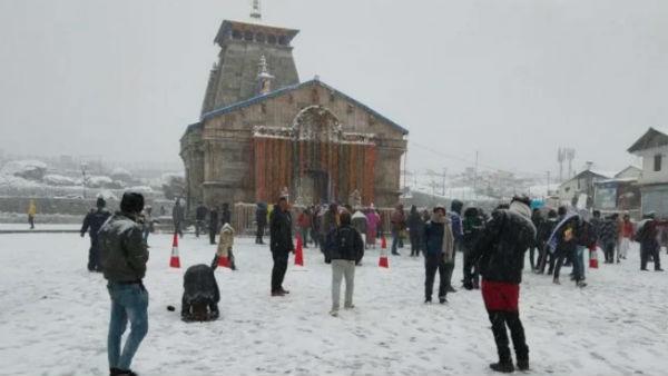 'તૌકતે'ની અસરઃ કેદારનાથમાં હિમવર્ષા, જાન્યુઆરી જેવી ઠંડી