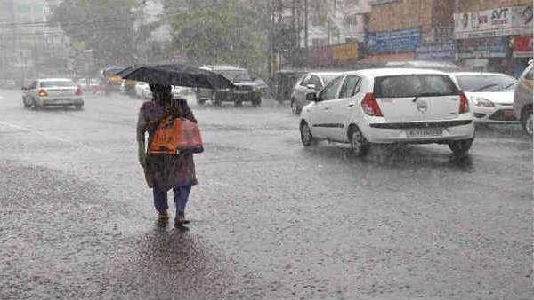 વાવાઝોડા 'તૌકતે'ની અસર, અમદાવાદના વિવિધ વિસ્તારોમાં વરસાદ