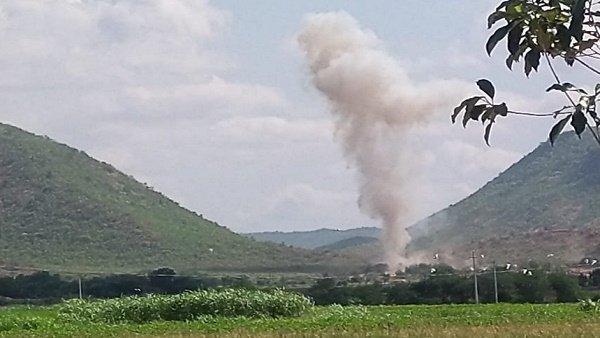 આંધ્ર પ્રદેશઃ ચૂનાની ખાણમાં ભયંકર વિસ્ફોટ, 5 મજૂરના મોત અને 4 લાપતા