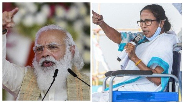 TMC vs BJP in West Bengal: પશ્ચિમ બંગાળ રુઝાનોમાં ટીએમસી આગળ