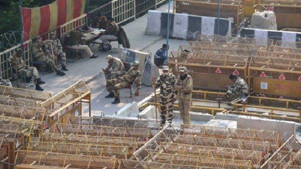ખેડૂત આંદોલનઃ કિલ્લાબંધી પાછળ દિલ્હી પોલીસે 9.7 લાખનો ખર્ચો કર્યો