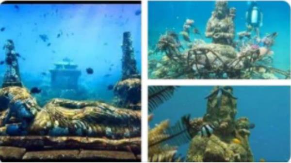 Fact Check: શું ઈંડોનેશિયાના સમુદ્રમાં મળી છે દેવી-દેવતાઓની 5000 વર્ષ જૂની મૂર્તિઓ?