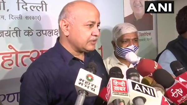 દિલ્હીમાં સ્કુલો ખોલવા પર બોલ્યા સિસોદિયા, કહ્યું- ઘણા લોકો ઇચ્છે છે પરંતુ..!!