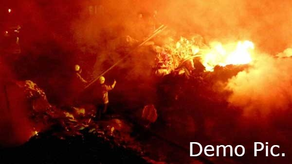 ફટાકડાની દુકાનમાં આગ લાગી, 5 લોકોના મોત