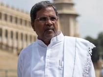Karnataka Chief Minister Siddaramaiah Falls Off His Chair Suffers Head Injury