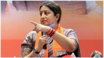 Aimim And Trs Are With Illegal Intruders For Political Gain Smriti Irani