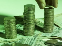 Rupee Trades Marginally Lower Line