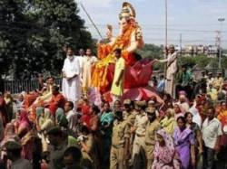 Ganesh Visarjan In Gujarat