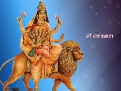 Maa Skandmata Worshiped On 5th Navratri