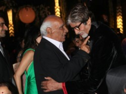 Yash Last Public Photo Amitabh Birthday Party