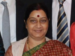 Sushma Swaraj Refuses To Support Nitin Gadkari
