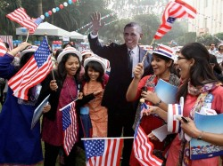 Obama And Supporters Celebrate His Re Election