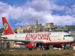 Kingfisher Airlines Posts Net Loss