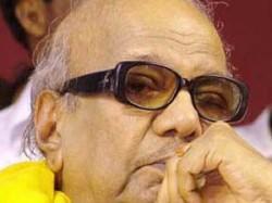 Karunanidhi Hints Stalin Will Be His Successor