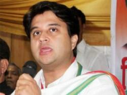 Money Going In Bjp Leader Pocket Said Scindia