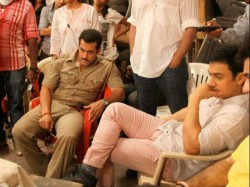 Salman Dabangg 2 Team Surprised Aamir Visit