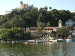 Mount Abu Coldest With Mercury Dipping To