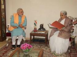 Modi Gave Resignation To Governor Claim New Government