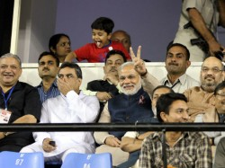 Modi Watched India Pakistan T20 Match