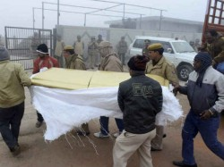 Why This Hurried Cremation Ask Bjp Leader