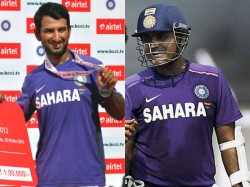 England Odis Cheteshwar Pujara In Virender Sehwag Out