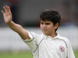 Arjun Tendulkar From Mca U 14 Probables