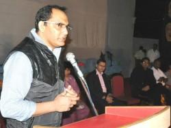Azhar Attend Function Of Hanifa School Borsad