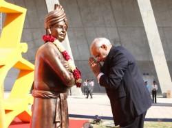 Narendra Modi Address Youth Meet At Mahatma Mandir