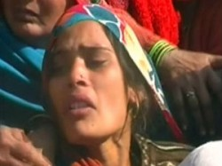 Wife Of Slain Soldier Continuous Hunger Strike