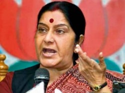 Bjp Leader Sushma Swaraj Fire On Sonia And Meira Kumar