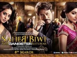 First Look Saheb Biwi Aur Gangster Returns Impressive