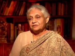 Sheila Dixit Said Delhi Is Not Secure For Women