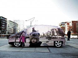 Mercedes Benzs Real Invisible Car