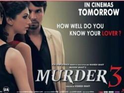 Murder 3 Has Open Poor Response At Box Office