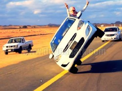 Car Stunts The Arabian Way Pictures