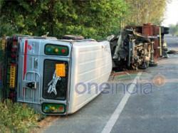 School Bus Truck Collide In Jalandhar 11 Student Killed