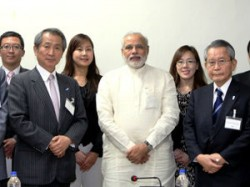 International Fec From Japan Meets Narendra Modi