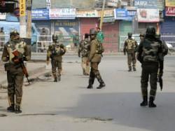 Curfew Srinagar Other Towns Kashmir Valley