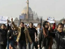 Posco Protest Women Protesters Strip Cloths