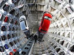 Volkswagen S Amazing Car Parking Tower