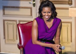Michelle Obama Named Best Dressed Woman