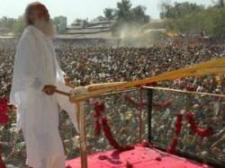 Asaram Wastes Water On Holi Gathering
