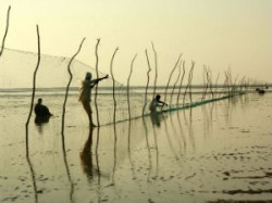 Fisherman Rally To Protest Against Salt Pan Encroachmen