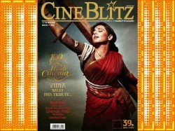 Vidya Balan As Mother India On Cineblitz April
