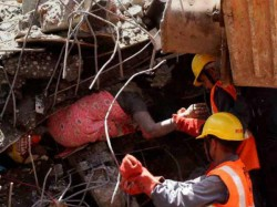 Thane Building Collapse 71 Dead One Builder Arrested