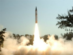 India Agni 2 Launched Accurately Hits Target Area