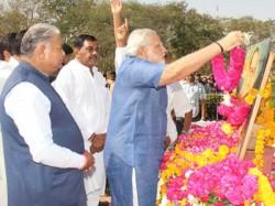 Narendra Modi Pays Tributes Dr Babasaheb Ambedkar