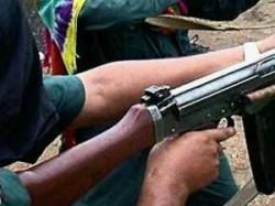 Ten Naxals Killed In Encounter