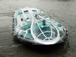 Himiko The Spaceship Shaped Japanese River Bus